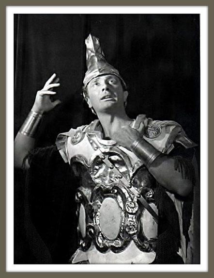 Sesto - GIULIO CESARE - di G.F. Händel - Roma (1955)