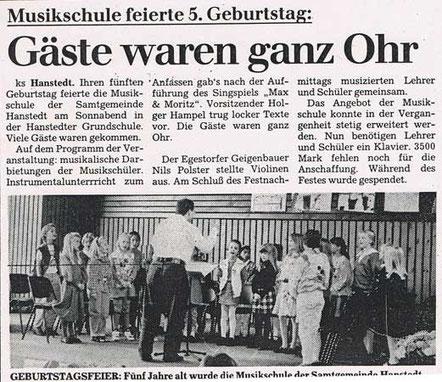 Winsener Anzeiger 20.09.1993