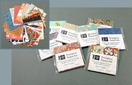 Origami Papier Set - Japanisches Chiyogami Mini-Sets 7,5 x 7,5 cm
