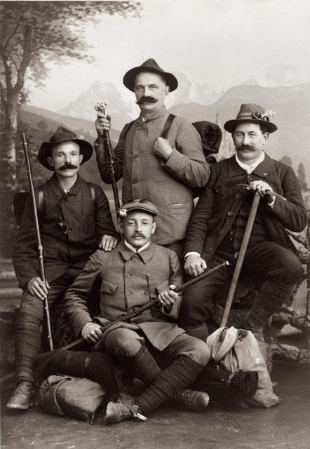 Wallisertour 1915 (Foto: Ernst Meier, Thun)