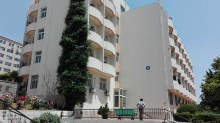 中国大連 遼寧師範大学学生寮 2号楼
