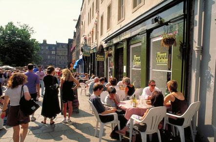 Pierre Victoire Restaurant in Grassmarket, Edinburgh, Lothian, Scotland