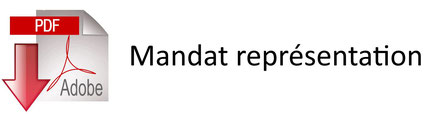 Mandat pour les licenciés qui souhaitent se faire représenter