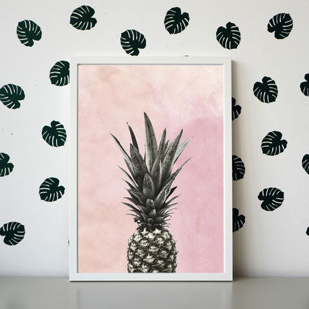 "Artprint ""Ananas-Pineapple"""