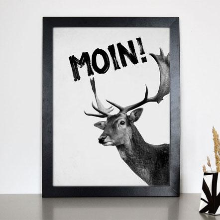 """Artprint """"MOIN"""""""