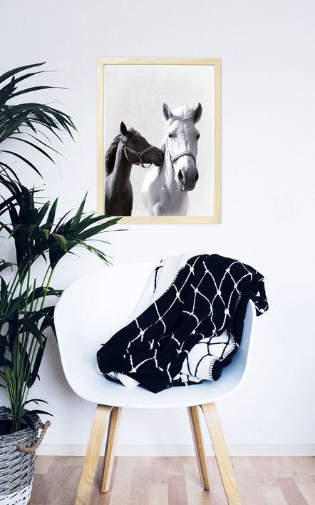 """Wandbild """"Pferde"""""""