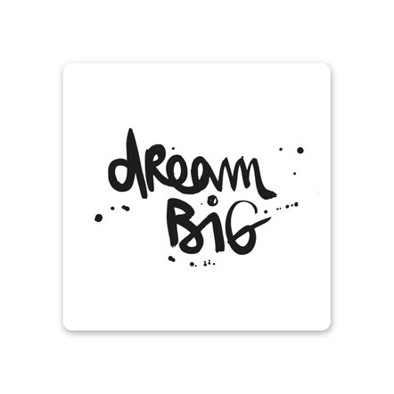 "MDF Untersetzer ""dream big"""