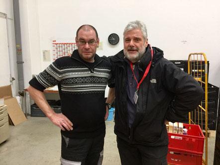 Werner und Herr Bachem, Foto: Härtel