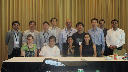 IEEE計算知能誌の編集委員の昼食会