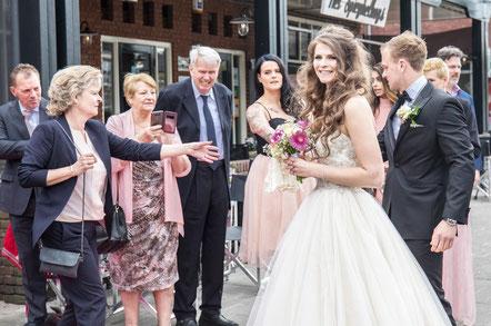 Bruiloft van Barbara en Youri