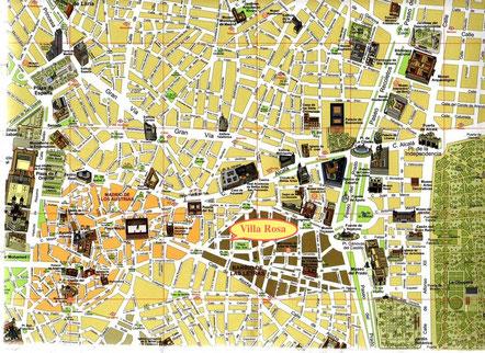 Фламенко в центре Мадрида