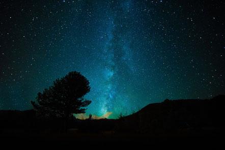 Milchstrasse am Nachthimmel, Quelle: Pixabay
