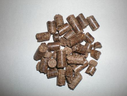 写真1 木質ペレット
