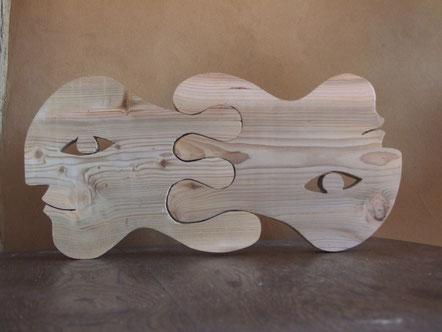 Entrelacés. Cèdre, 2013. (46x22cm) . 100 €
