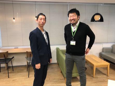 今回インタビューに答えてくださった高橋アキヒロさん(左)&ツバサさん(右)。人呼んで「アッキー&ツバサ」のお二人です♪