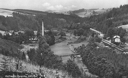 Bild: Teichler Wünschendorf Erzgebirge Seifertmühle 1937