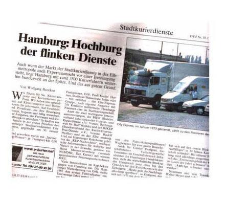 Autorenbeitrag in der KEP-Beilage der DVZ, März 2003