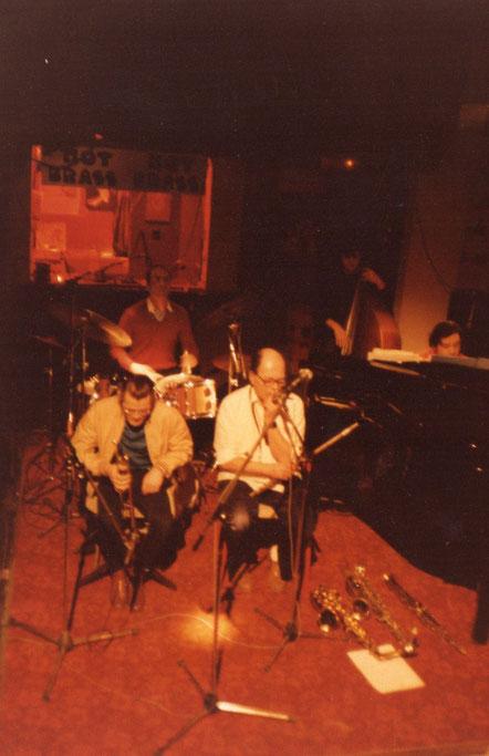 Chet Baker, J.Pelzer, V.Seno, C. Le Van, M.Graillier au Club de Jazz du Hot Brass à Aix en Provence