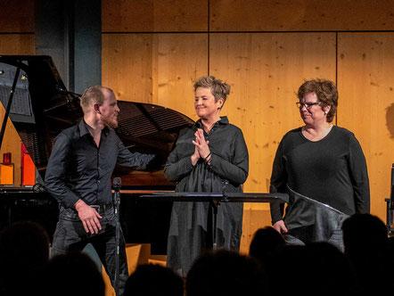 Benjamin Seipel, Christina Brudereck, Susanne König (Foto © Jens Putzier)