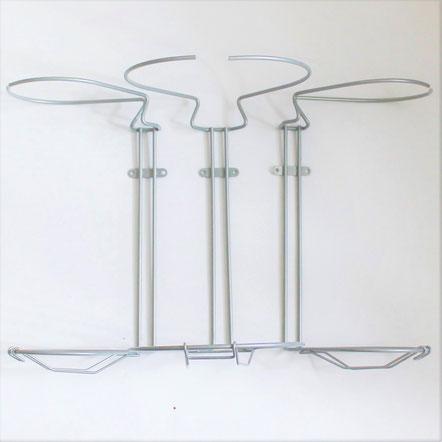 3 delt smart affaldssorteringssystem til køkken, 55 cm låge. Køb det her.