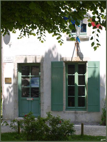 La mairie de Talmont-sur-Gironde, Charente-Maritime