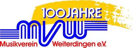 Logo 100 Jahre MV Weiterdingen e.V.
