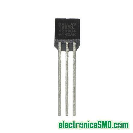ds18b20, sensor temperatura, guatemala, electornica, electronico, 1-wire, guatemala temperatura ds18b20