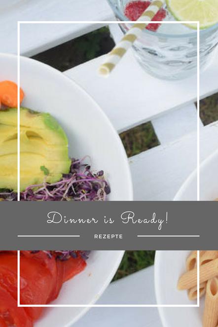 Dinner is ready! Ein leichter, leckerer Salat für die Sommermonate. In nur wenigen Minuten zubereitet und voll an Vitaminen.