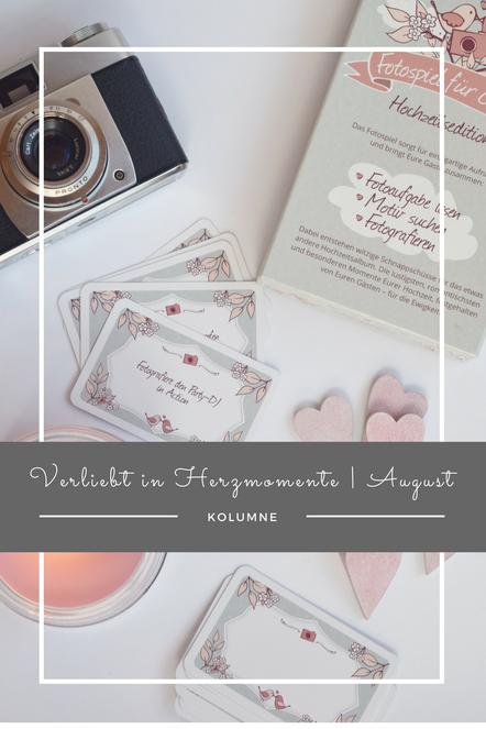 Ein Fotospiel für Hochzeitsgäste und weitere Tipps und Tricks rund ums Thema Beschäftigungen für Gäste auf der Hochzeit.