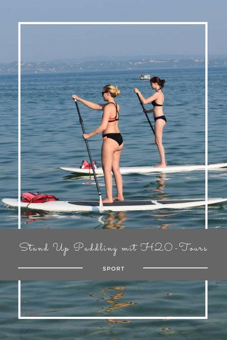Follow me around bei einem Stand Up Paddling-Kurs mit H2O-Tours.