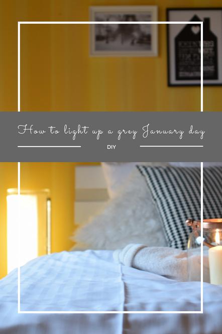 Wie man einen grauen Januartag erhellt, mit vielen Kerzen und der GUISE Lampe von VIBIA.
