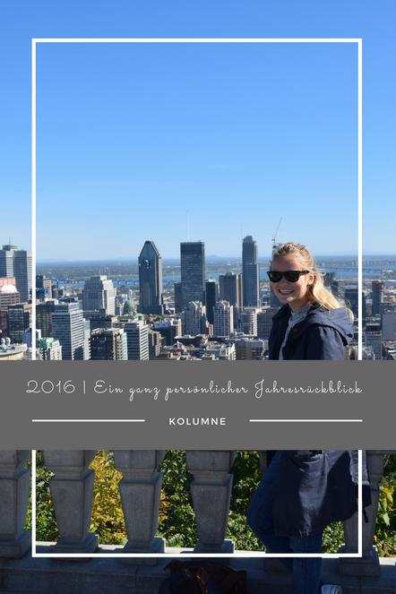 2016 - mein ganz persönlicher Jahresrückblick