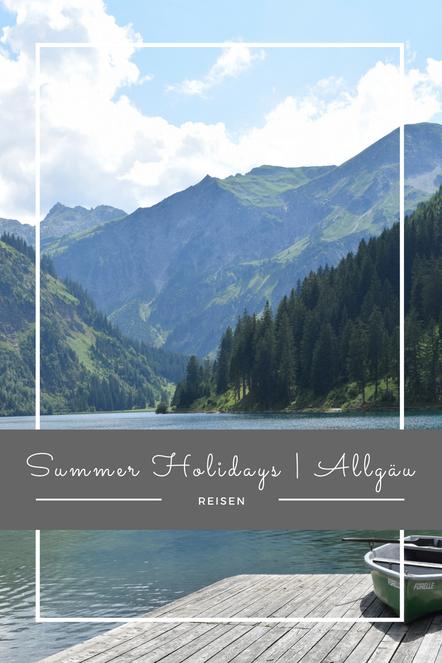 Meine Sommerferien im Allgäu. Mit Badespaß, Bergwanderungen und Schloss Neuschwanstein.