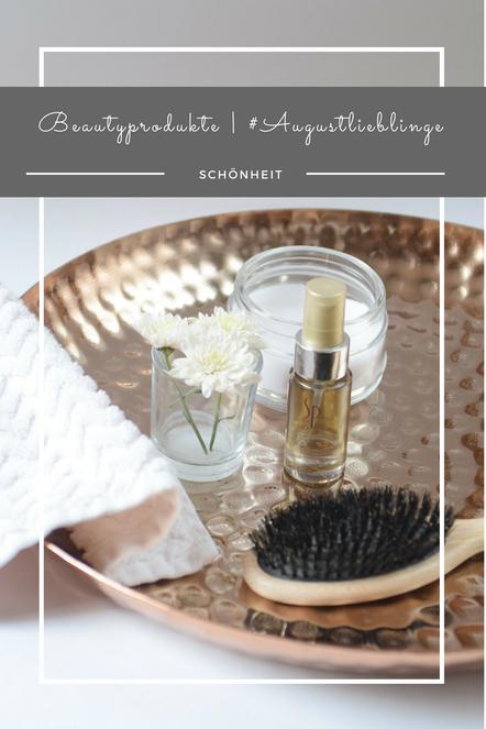 Im August drehte sich bei meinen Beautyprodukten alles um die Haarpflege - mit dem Luxe Hairoil von SP.