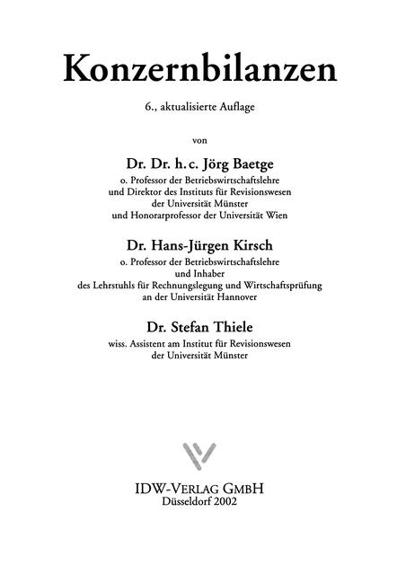 Abbildung der Titelseite von Beispiel B