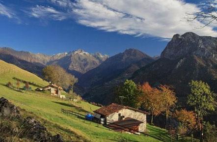 Una veduta della valle