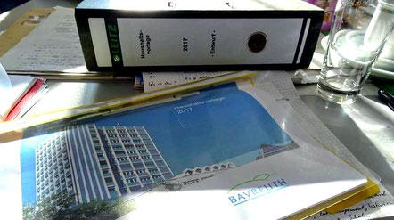 Licht und Schatten: der Haushalt und die Haushaltsrede der Oberbürgermeisterin