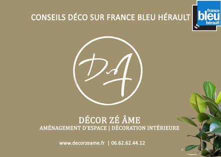 Conseil décorateur sur France bleu hérault 2017 2020