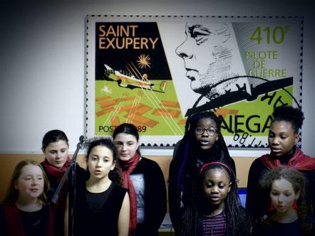 La petite chorale de Saint-Éxupéry