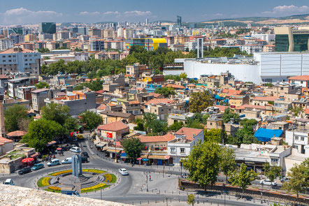 The city of Gaziantep in the South East of Turkey