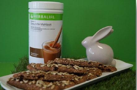 Schokostangen mit Nährstoffshake Schokolade