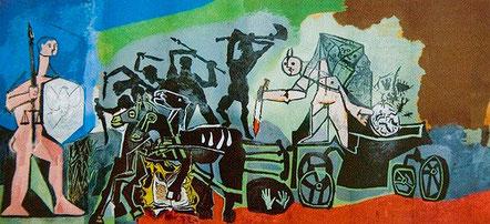 La guerre et la paix - Pablo Picasso Vallauris 1951