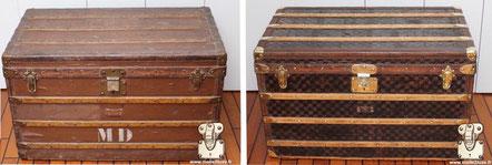 Louis Vuitton mail trunk Circa  1890