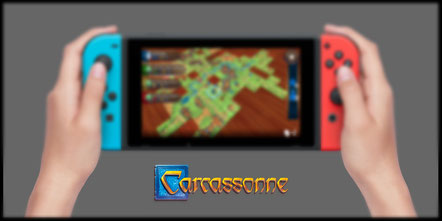 Carcassonne für Nintendo Switch