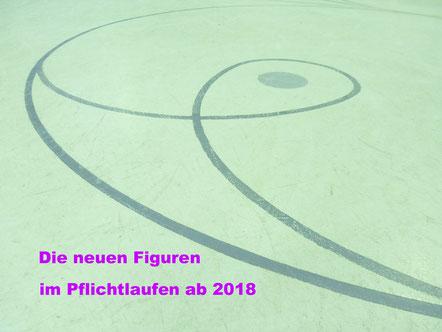 Rollkunstlaufen - die neuen Figuren im Pflichtlaufen ab 2018