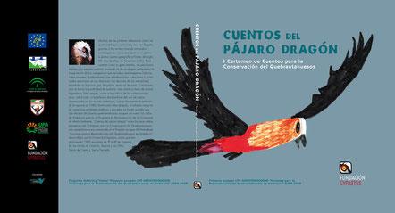 cuentos del pájaro dragón quebrantahuesos ilustración infantil