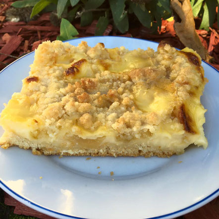 Blechkuchen Apfelkuchen am Blech