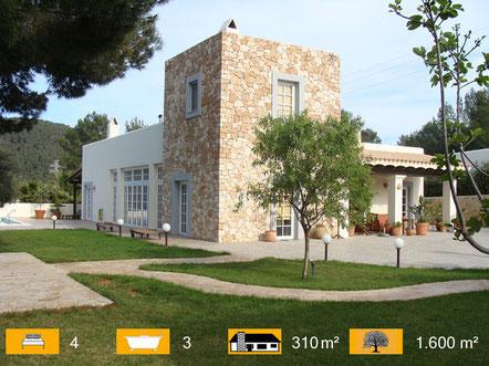Villa am Golfplatz Ibiza kaufen