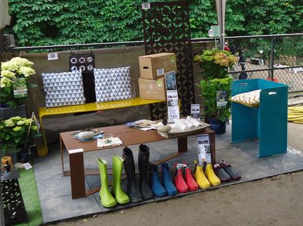 ©Rouchette, les bottes et bottillons présentent au salon Jardins, Jardin 2016 aux Tuileries