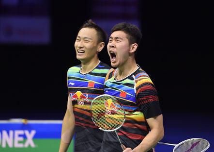 Zhang Nan und Liu Cheng (Bild: Bernd Bauer)